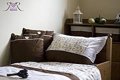 Úžitkový textil - Sladko v čokoládových perinách... - 4281251_