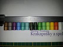 """Komponenty - Bezpečnostné """"barrel"""" zapínanie, farebné - 4278115_"""