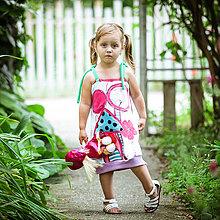 Detské oblečenie - Origo detské šaty domček - 4281712_