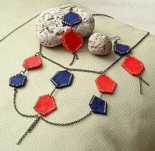 Sady šperkov - Námornícka sada trošku netradične - 4284942_