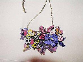 Náhrdelníky - safari flowers - náhrdelník - 4285095_