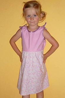 Detské oblečenie - Śaty ružovkasté - akcia 50 % - 4285907_