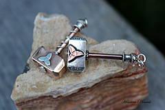 Šperky - Thorovo kladivo - 4282155_