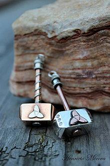 Šperky - prívesok - Thorovo kladivo - 4282152_