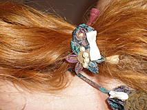 Náhrdelníky - Náhrdelník+gumička - 4287198_