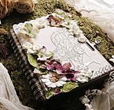 Zápisníky - !!Predaný!!,,,Brána do záhrady Arboria ***Príbeh prvý*** - 4287659_