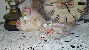 Dekorácie - srdíčka romantické růže - 4292024_