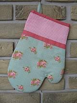 Úžitkový textil - set rukavica + chňapka Anna - 4289578_