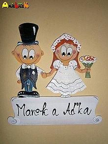 Tabuľky - Menovka - svadobná - 4293126_