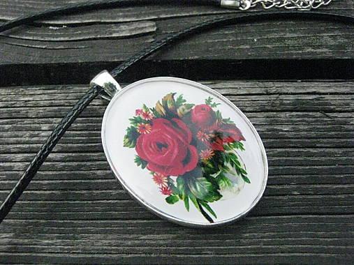 e9f668453 Kytica červených ruží - prívesok / bizuteriauni - SAShE.sk ...