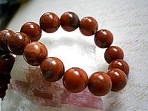 Minerály - Červený jaspis_gulička 10 mm - 4292989_