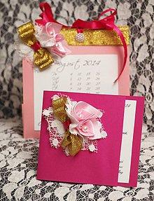 Papiernictvo - gratulačná pohľadnica s taštičkou - 4293269_