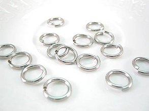 Komponenty - Spoj.krúžky 10x1,5mm /M1336/ - nerez.oceľ 316 - 4295185_