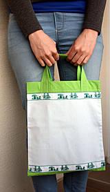 Taštičky - Detská taška zelená - 4300008_