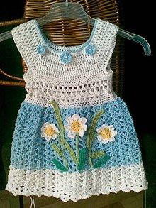 Detské oblečenie - saty LUSI - 4299332_