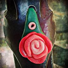 Náhrdelníky - Plačem ruže - prívesok - 4299422_