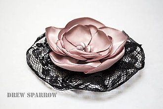 Odznaky/Brošne - Pink night 5 - 4303474_