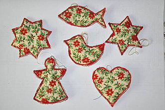 Úžitkový textil - Via. ozdoby šité biele - 4304152_