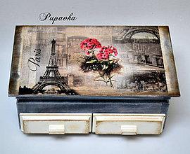 Krabičky - Okolo sveta -Paríž - 4301304_