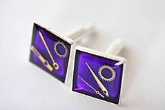 Šperky - Fialové - 4302517_