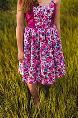 Šaty - Fialová lúka - 4304812_