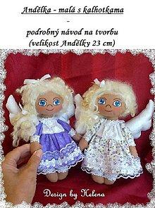Kurzy - PDF návod - Andělka - malá s kalhotkama - 4308245_