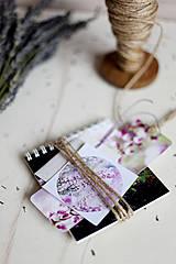 Papiernictvo - V levanduľových farbách #7 - 4307723_