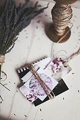 Papiernictvo - V levanduľových farbách #7 - 4307724_