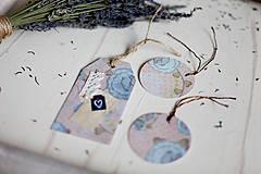 Papiernictvo - V levanduľových farbách #11 - 4307872_