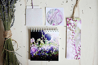 Papiernictvo - V levanduľových farbách #7 - 4307725_