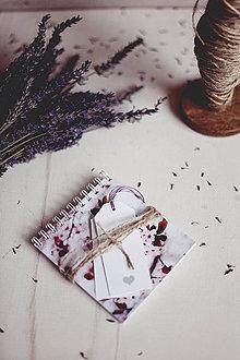 Papiernictvo - V levanduľových farbách #9 - 4307816_