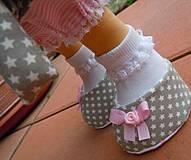 Bábiky - Alica v skladanej sukničke s koníkom - 4308359_