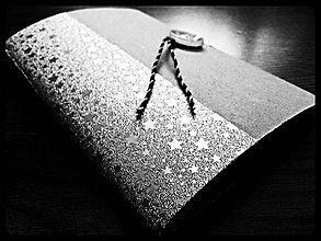 Papiernictvo - Limitovaná edícia trblietavých zápisníčkov I. - 4306126_