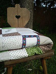 Úžitkový textil - Folk-patchwork - 4306997_