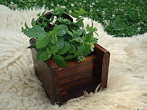 Dekorácie - Hrantík na bylinky - 4307391_