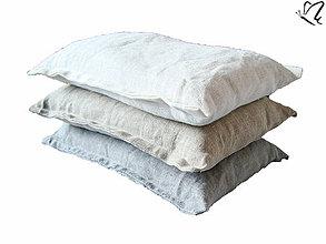 Úžitkový textil - _z ľanu - špaldový zahrievací /chladiaci vankúšik - 4310354_