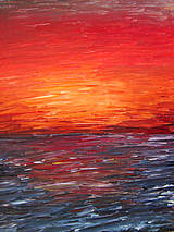 Obrazy - západ slnka - 4310113_