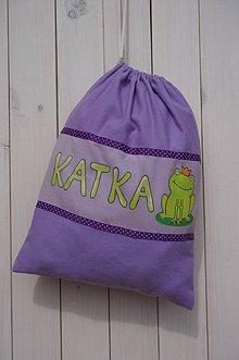 Batohy - Vrecko na prezúvky pre Katku - 4309727_