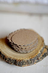 Papiernictvo - Visačky na svadbu / recyklované - 4309521_