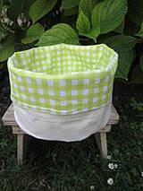 Košíky - košík zelený - 4311403_