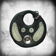 Náhrdelníky - Duša nevinného (čierno biela) - 4310484_