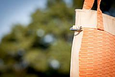 Veľké tašky - Oranžová letná - 4317374_