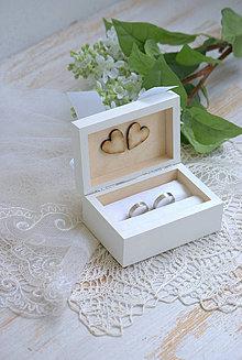 Prstene - Krabička na prstienky Delicate - 4315692_