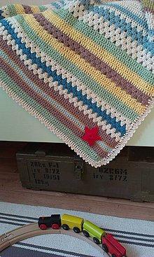 Úžitkový textil - Deka miš-maš - 4318308_