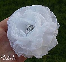 Ozdoby do vlasov - svadobný kvet pre maminku - 4319333_