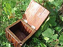 Krabičky - Krabička zo starého dreva - 4318189_