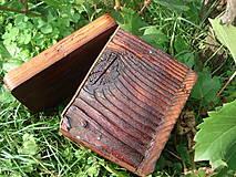 Krabičky - Krabička zo starého dreva - 4318190_