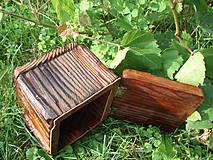 Krabičky - Krabička zo starého dreva - 4318192_