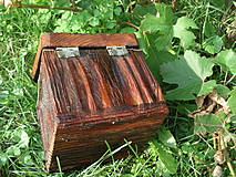 Krabičky - Krabička zo starého dreva - 4318204_
