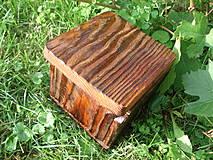 Krabičky - Krabička zo starého dreva - 4318205_